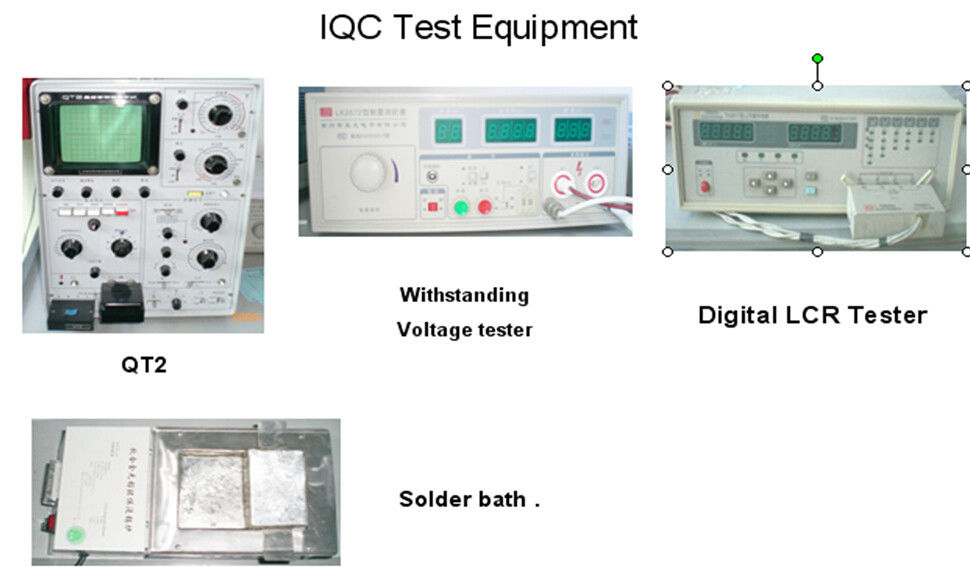 IQC Test Equipment